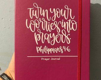 Prayer journal. Planner notes bible scripture notes