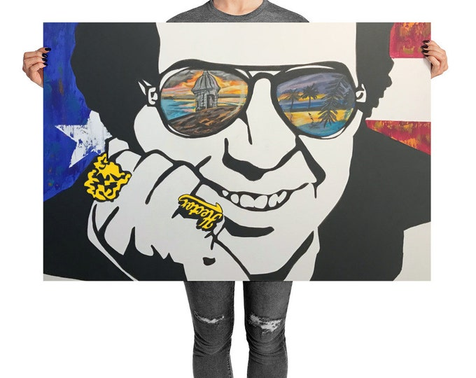 Featured listing image: Hector Lavoe Photo paper poster