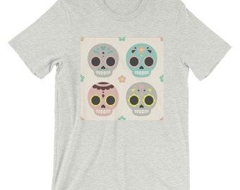 Skulls Short-Sleeve Unisex T-Shirt