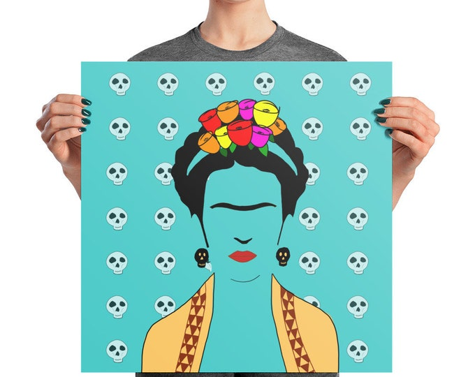 Frida Photo paper poster
