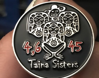 Taina Sisters special edition Lapel Pin (Soft Enamel)