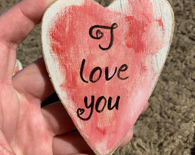 Valentine's Day Heart Love Message