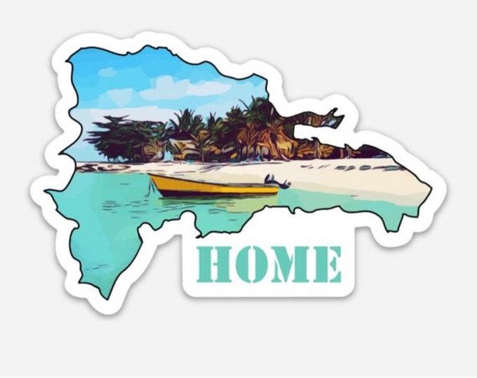 DR Home Sticker
