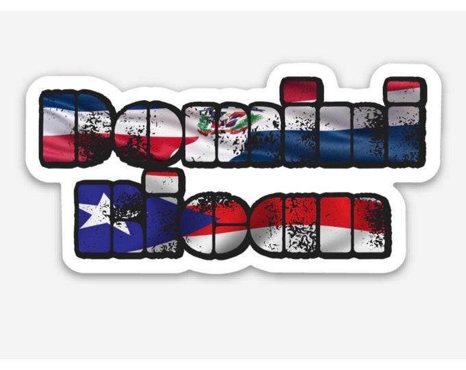DominiRican Stickers