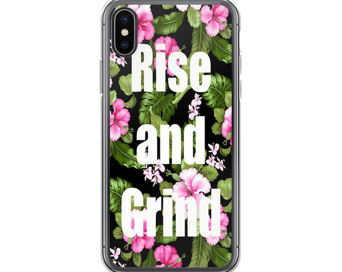 Rise and GrindiPhone Case