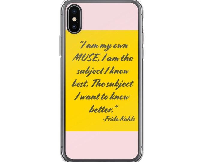 Frida quote iPhone Case
