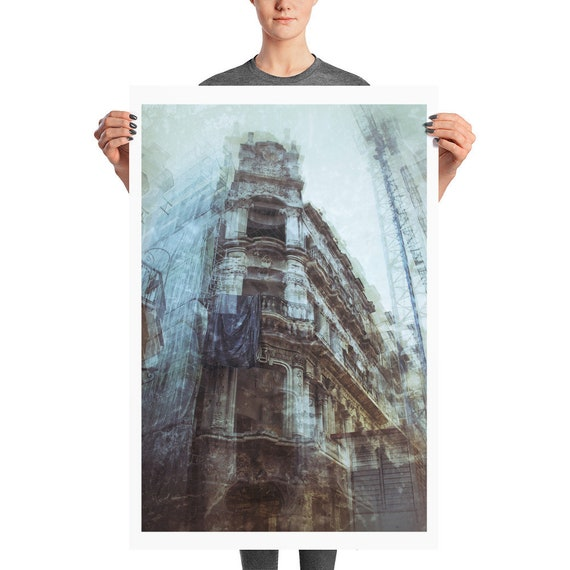 Urbex Photo paper poster