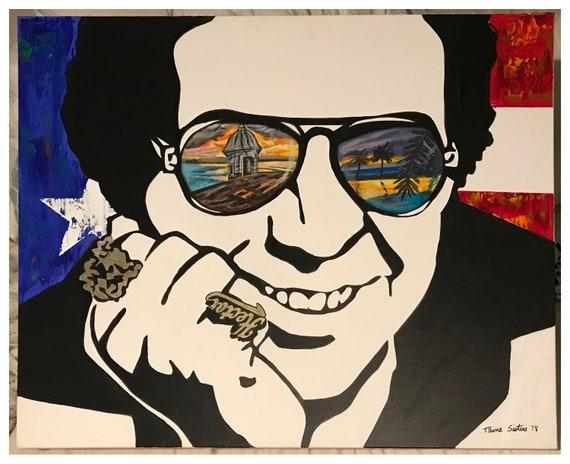 Hector Lavoe Original Art Canvas