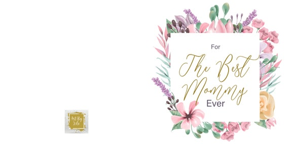 Mother's Day Card (Instant Digital Download)