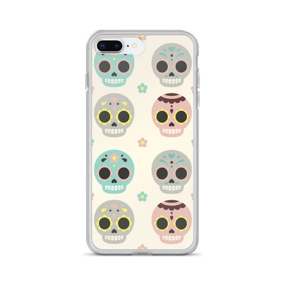 Sugar skulls iPhone Case