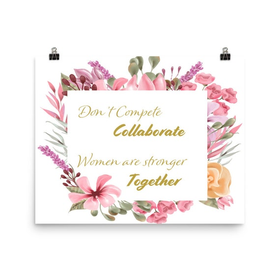 Stronger Together Photo paper poster