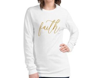 Faith Women's Long Sleeve Tee