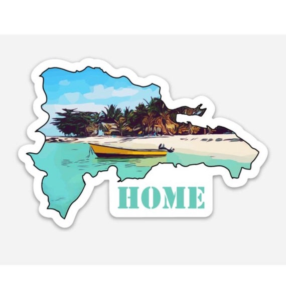DR Home Sticker