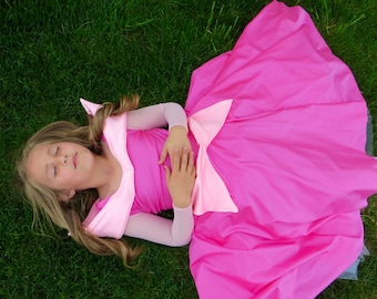 Comfortable Sleeping Beauty dress!Soft, Stretchy, Non itchy, machine washable,  High quality fabric &workmanship