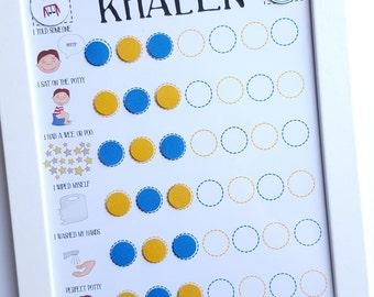 printable potty training sticker chart