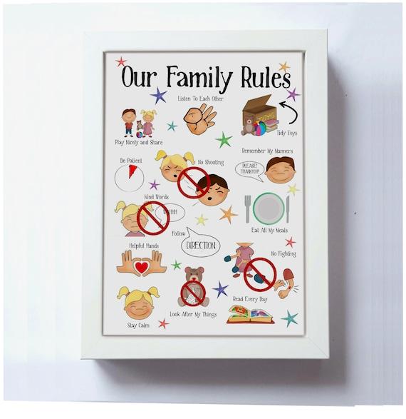 Info Familienregeln