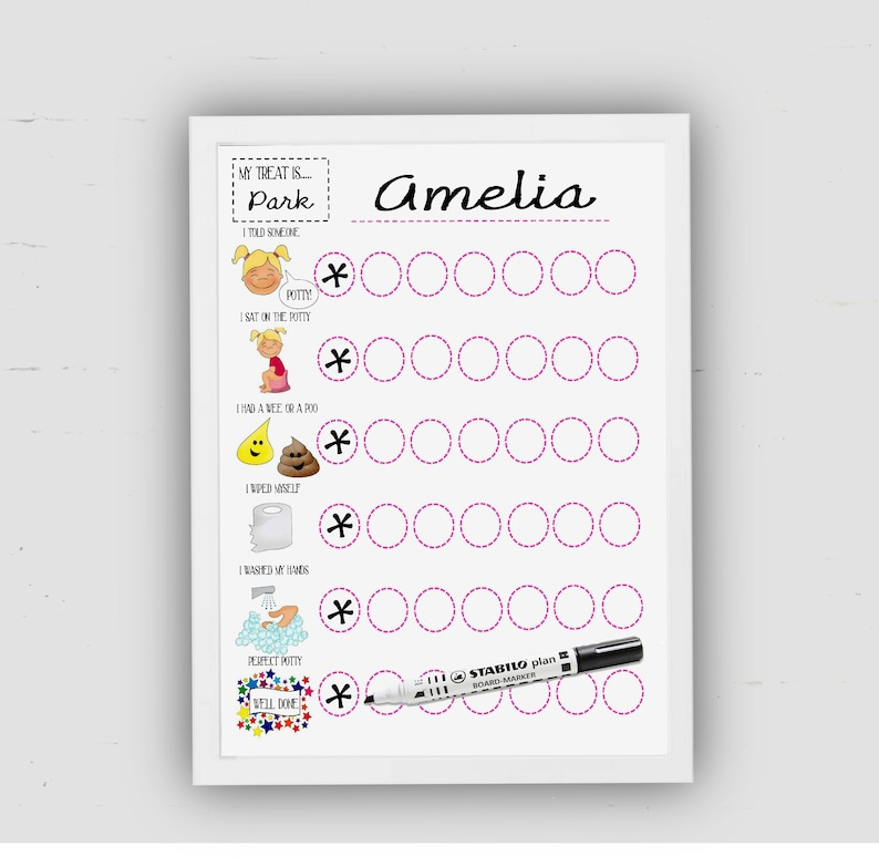 photograph about Potty Chart Printable called Potty Working out Chart, for women, Down load, Potty Chart, Printable, Visible Guidance, Techniques in the direction of potty, with illustrations or photos, Electronic document, sticker chart