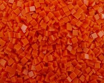 Mattonelle di mosaico arancio etsy