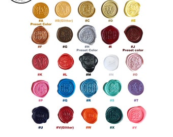 Sealing Wax   Bulk deal discount - a set of 10 pcs   25 Colors, Stamp Wax, Seal Wax, compatible with Glue Gun