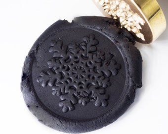 Wax Seal Stamp Snowflakes 1 | Christmas Card | Xmas Gift