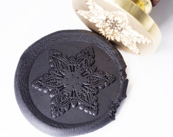 Wax Seal Stamp Snowflakes 2 | Christmas Card | Xmas Gift