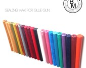 Sealing Wax Deal of Today 25 Colors, Stamp Wax, Seal Wax, competitable with Glue Gun