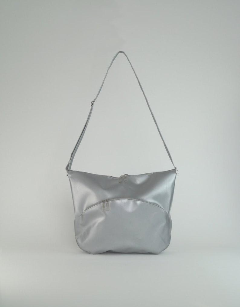 Stella silver bag middle size