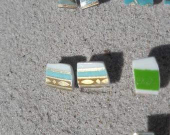 Jenny porcelain earrings