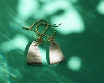 Cézanne (the sun)  - porcelain earrings