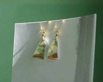 Valeria porcelain earrings