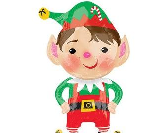 35 christmas elf party balloonchristmas partyfamily celebration christmas balloonschristmaschristmas decor christmas elf - Elf Christmas Party Decorations