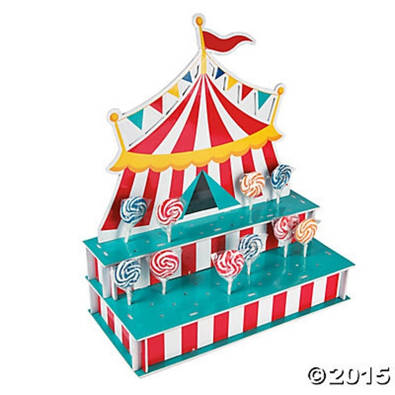 40 The Circus Cake Pops Stand Lollipop Stand Candy Display Etsy Unique Lollipop Stands Display