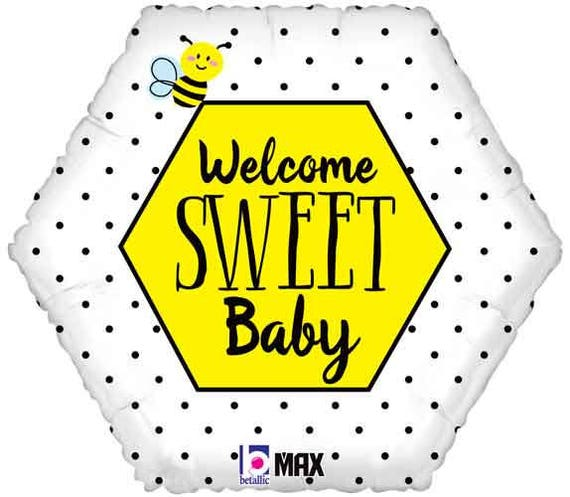 Bumble Bee Balloon Bumble Bee Party Bumble Bee Theme Etsy