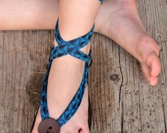 Leather sandals women, gladiator sandals, barefoot sandals, women sandals, blue sandals, adjustable sandals, comfort sandals