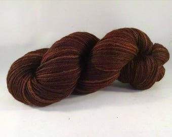 Handspun wool yarn - DK weight  (#643)