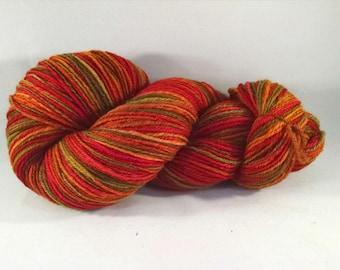 Handspun wool yarn - DK weight  (#644)