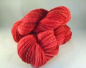 Handspun yarn - DK weight  (#638)