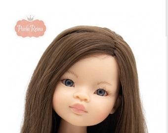 Paola Reina Las Amigas Spanish Doll Asian Sculpt brown hair blue eyes for customizing