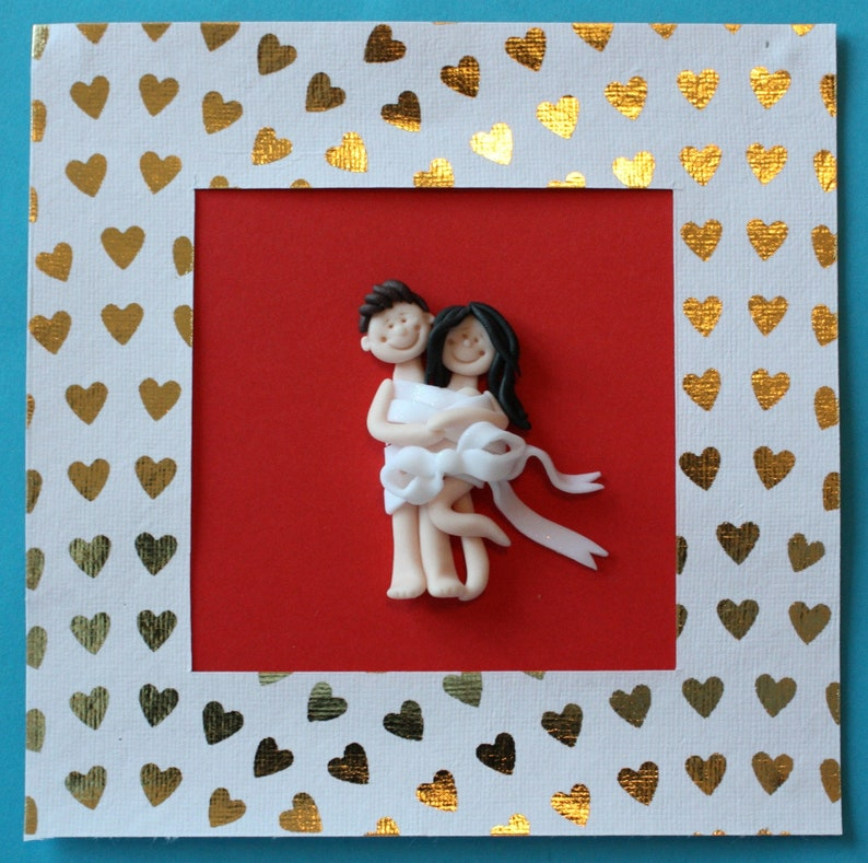 Personalised Special Wedding AnniversaryHappy Valentine/'s Day Card custom made card