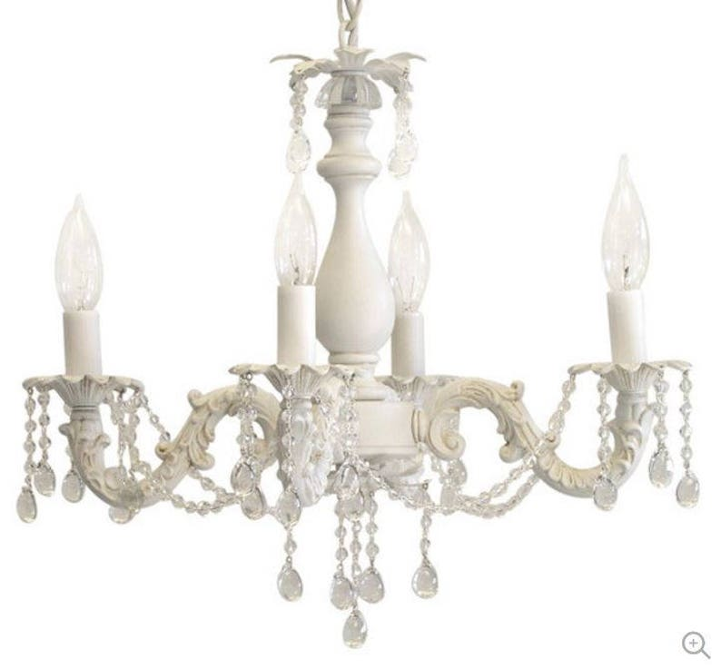 Pleasing Shabby Chic Cottage Style Mini Chandelier Anna Custom Hand Made Just For You Download Free Architecture Designs Scobabritishbridgeorg