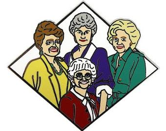 Golden Girls (enamel pin)