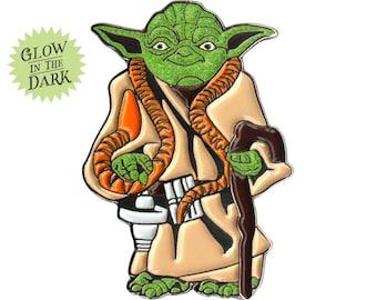 Kenner Yoda [glow in the dark] (enamel pin)