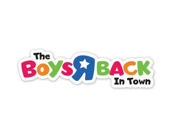 Boys R Back (sticker)
