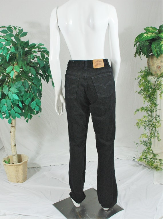 Levi's Black Mom Jeans | Vintage Levi's High Waist