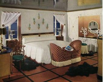 1930s Bedroom Etsy