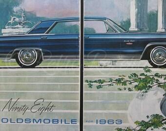 1960 Luxury Car Ads Etsy