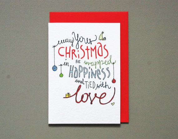 Resultat d'imatges de May your Christmas be wrapped in happiness and tied with love