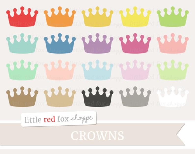 Crown Clipart Crowns Clip Art Fairytale Royal Princess Prince image 0