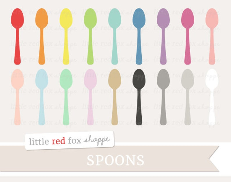 Spoon Clipart Cooking Clip Art Kitchen Utensil Baking Food image 0