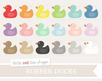 Rubber Duck Clipart, Rubber Duckie Clip Art Bath Time Soap Bathtime Bathroom Water Tub Kids Cute Digital Graphic Design Small Commercial Use